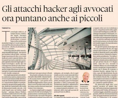 hacker attaccano studi legali
